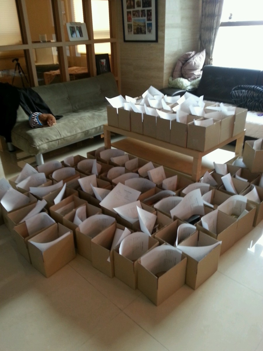 Early Sokoglam orders in Cho's apartment in Seoul. Photo: Charlotte Cho