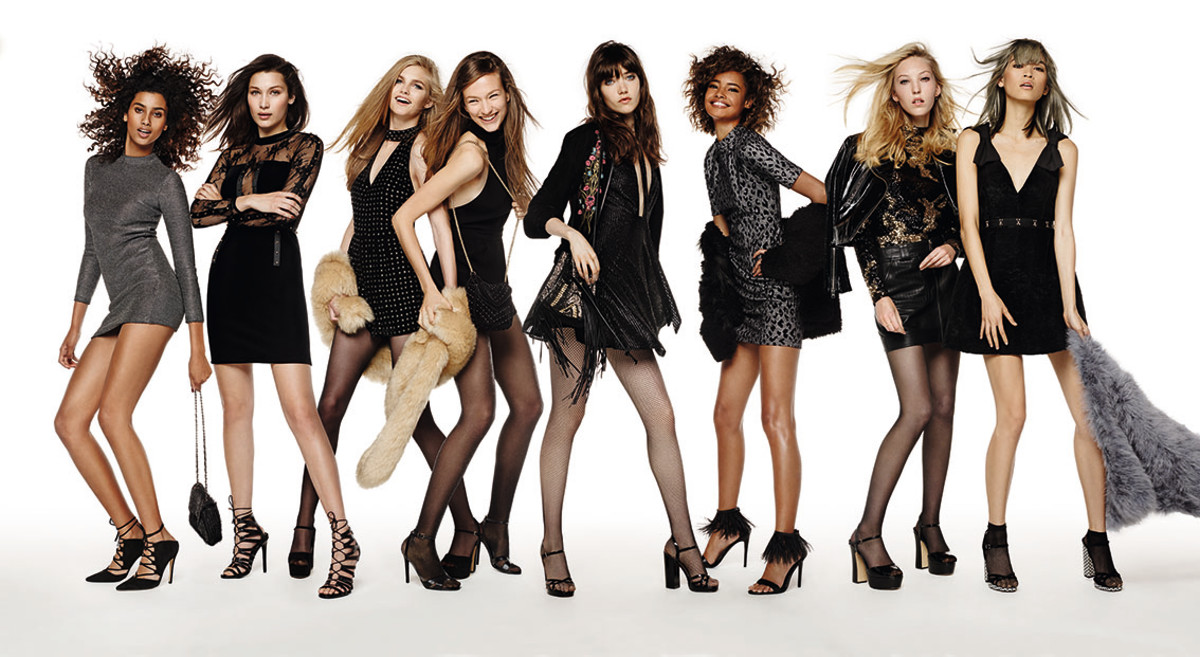 Buy Delevingne cara models for topshops holiday campaign picture trends