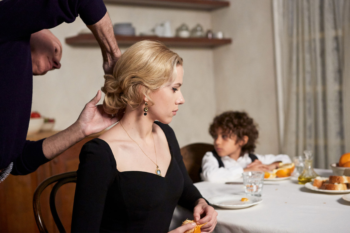 "Behind-the-scenes: Scarlett Johansson for Dolce & Gabbana's ""The One"" fragrance. Photo: Dolce & Gabbana"