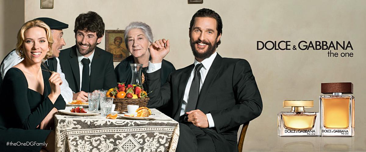"Scarlett Johansson and Matthew McConaughey for Dolce & Gabbana's ""The One"" fragrance. Photo: Dolce & Gabbana"