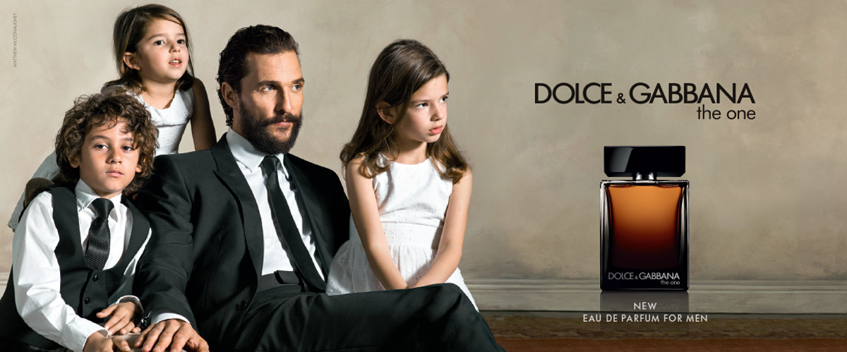 "Matthew McConaughey for Dolce & Gabbana's ""The One"" fragrance. Photo: Dolce & Gabbana"