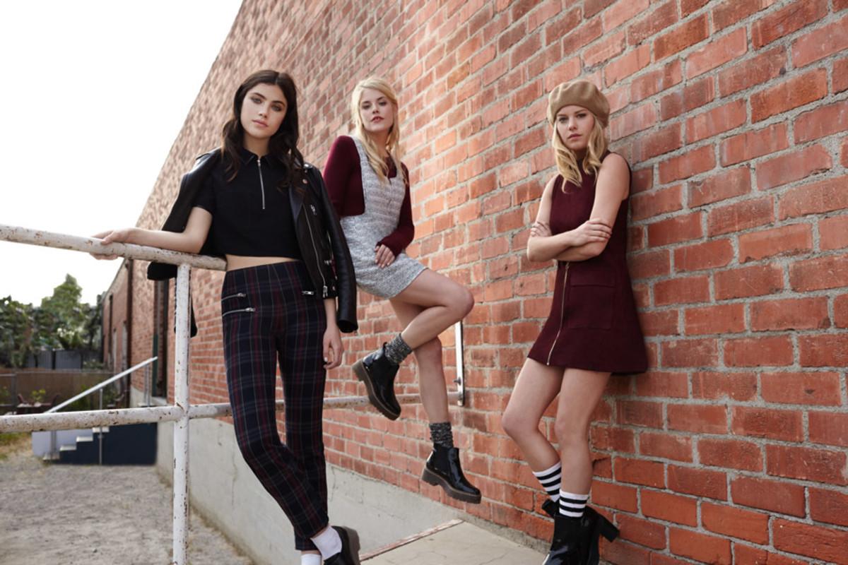 Fashion week Forward fashion millennial women prefer forever 21 for woman
