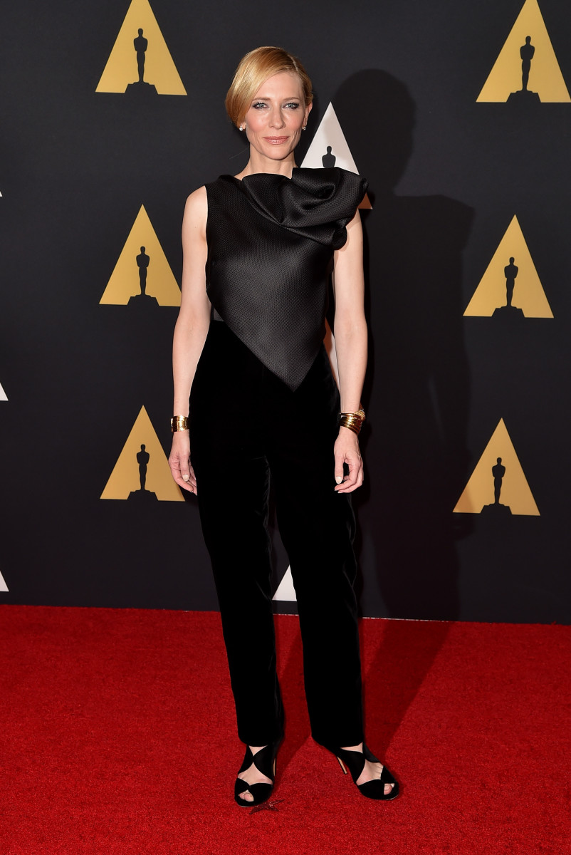 Cate Blanchett at the 7th Annual Governors Awards. Photo: Kevin Winter/Getty Images