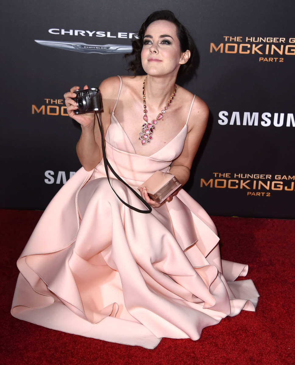 Jena Malone on the red carpet. Photo: Steve Granitz/Getty Images
