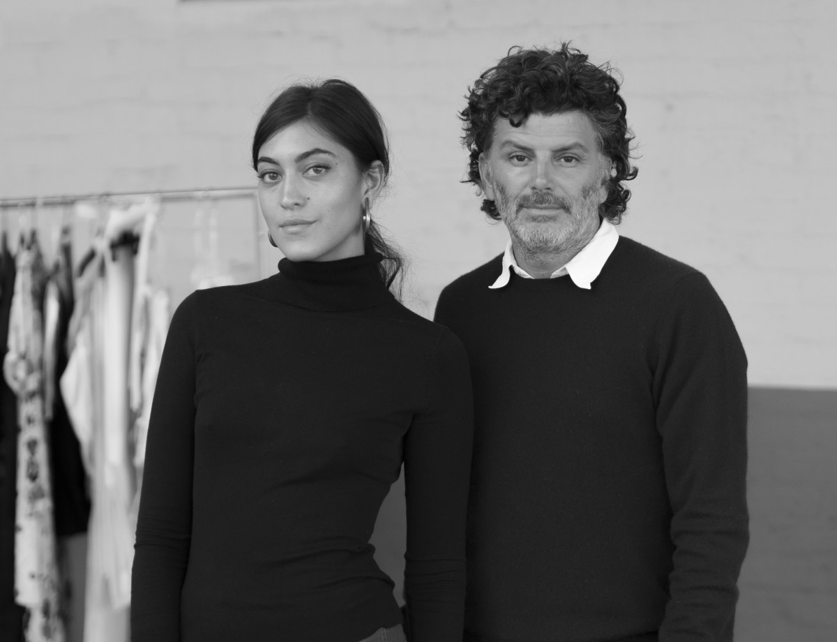 Sarah Staudinger and George Augusto. Photo: Staud