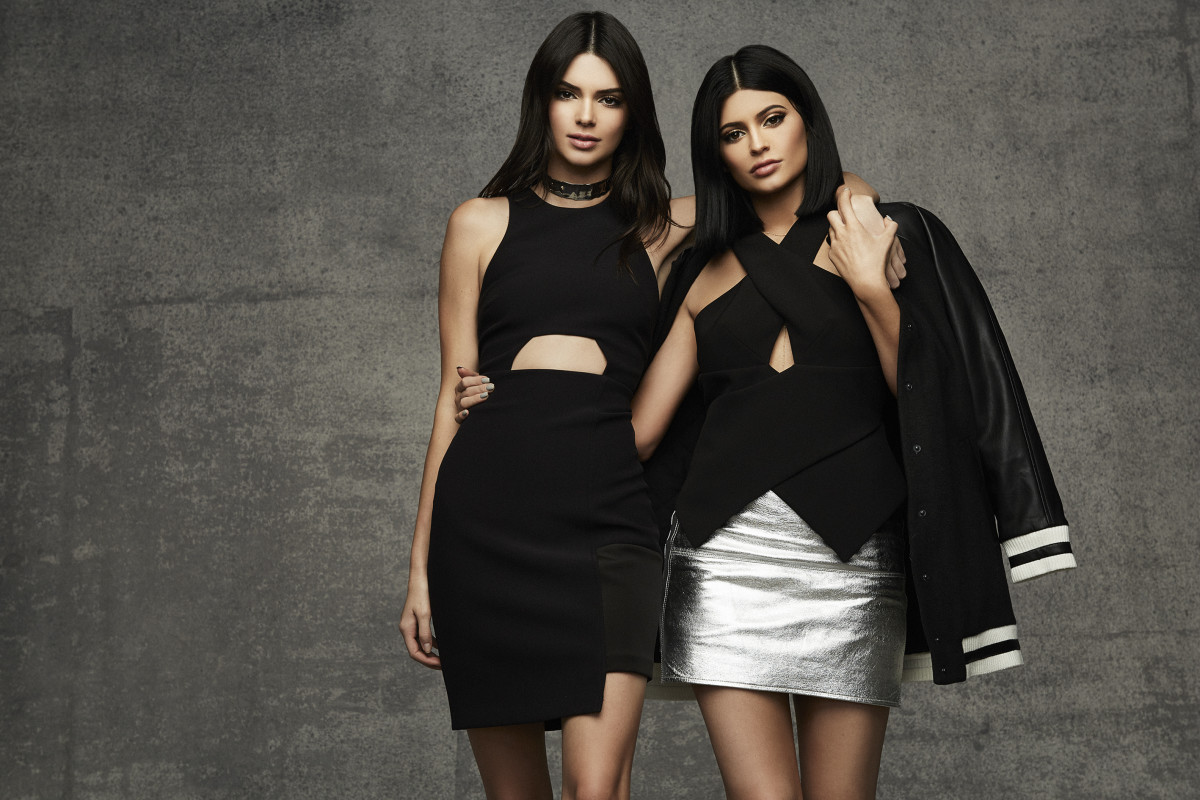 Kendall and Kylie Jenner for Topshop. Photo: Easton Schirra