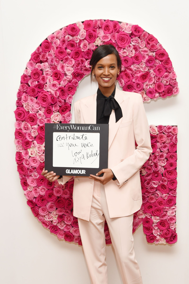 Liya Kebede at the Glamour Women of the Year Awards. Photo: Nicholas Hunt/Getty Images