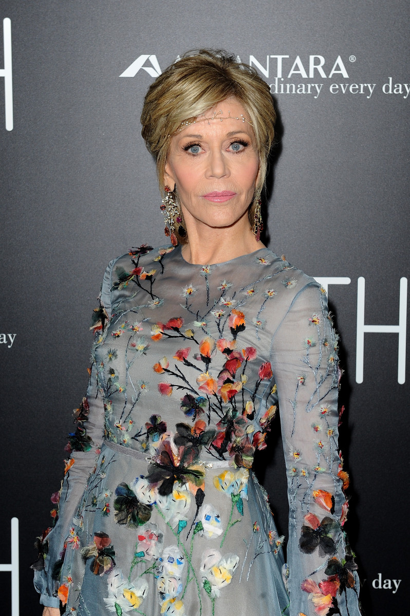 Jane Fonda at the premiere of 'Youth' in Los Angeles. Photo: Frederick M. Brown/Getty Images