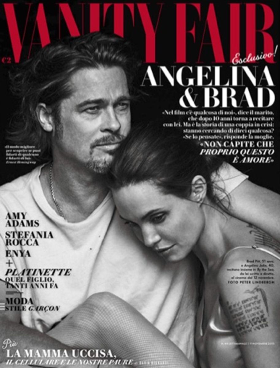 Brad Pitt and Angelina Jolie. Photo: Fashion Gone Rogue