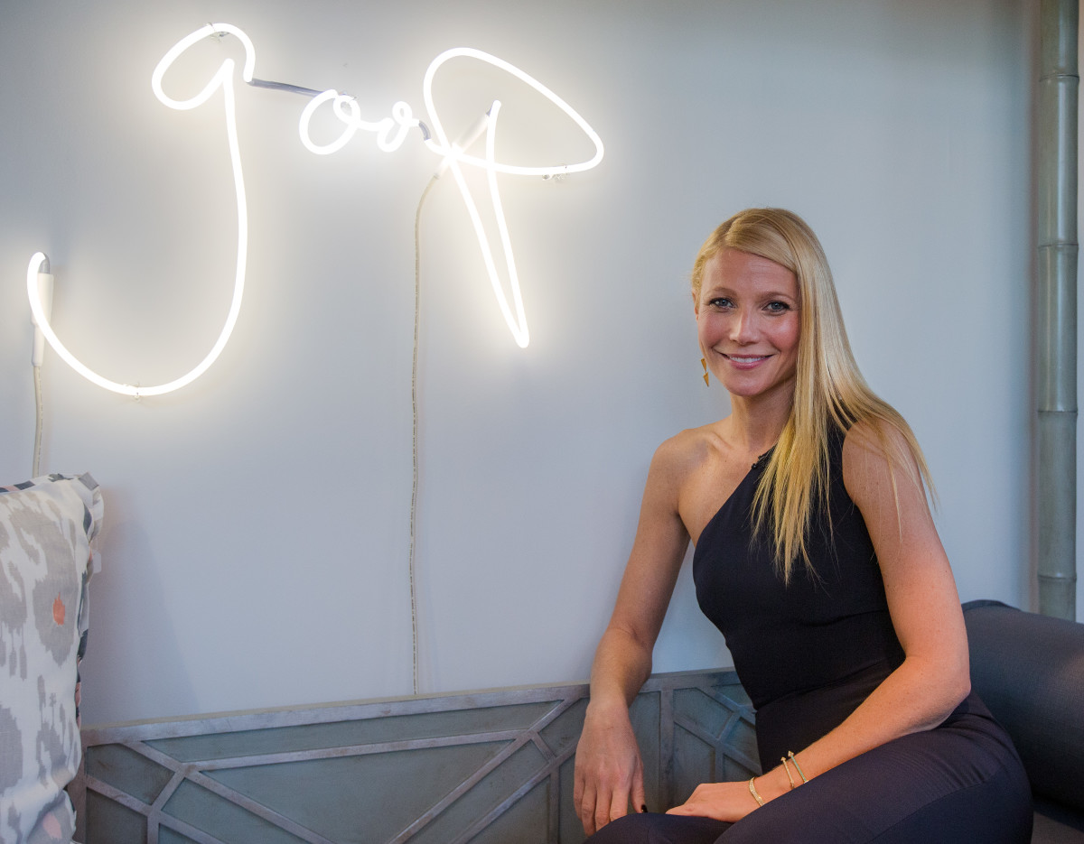 Gwyneth Paltrow at the Goop pop-up launch party in Dallas. Photo: Layne Murdoch Jr./Getty Images