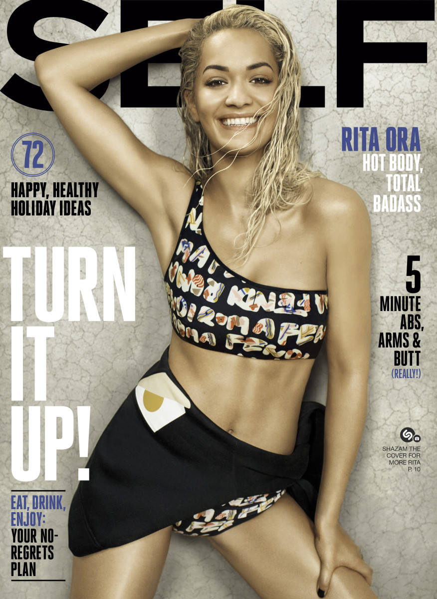 Rita Ora covers the latest 'Self'. Photo: Self