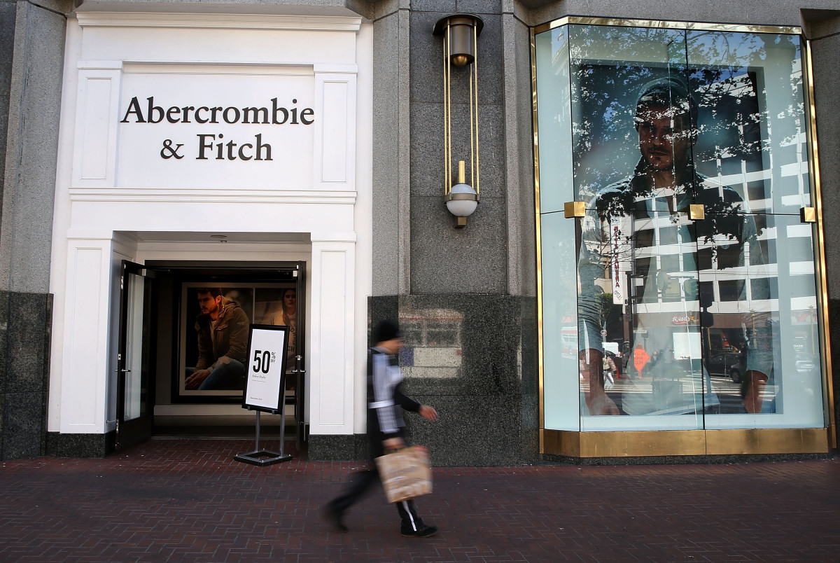 An Abercrombie & Fitich store. Photo: Justin Sullivan/Getty Images