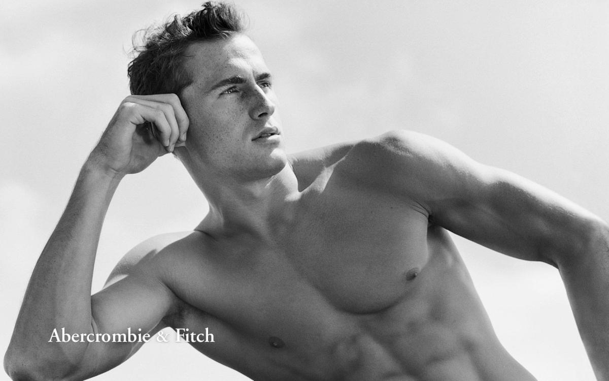 Gone are the days of shirtless models. Photo: Abercrombie & Fitch
