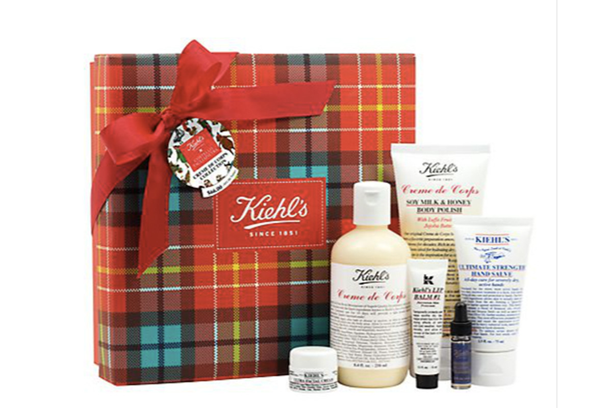 Kiehl's Costello & Tagliapietra Creme de Corps Collection Gift Set, $66, available at Kiehl's. Photo: Kiehl's