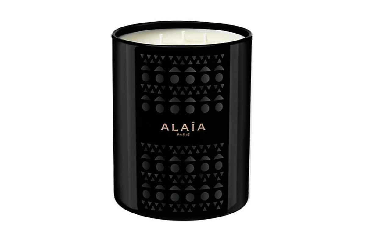 Alaia Paris Scented Candle, $300, available at Saks Fifth Avenue. Photo: Saks Fifth Avenue