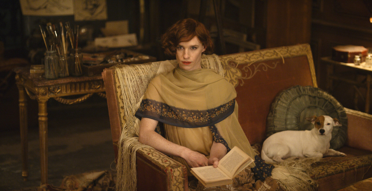 "Eddie Redmayne as Lili Elbe in Tom Hooper's ""The Danish Girl."" Photo: Focus Features."