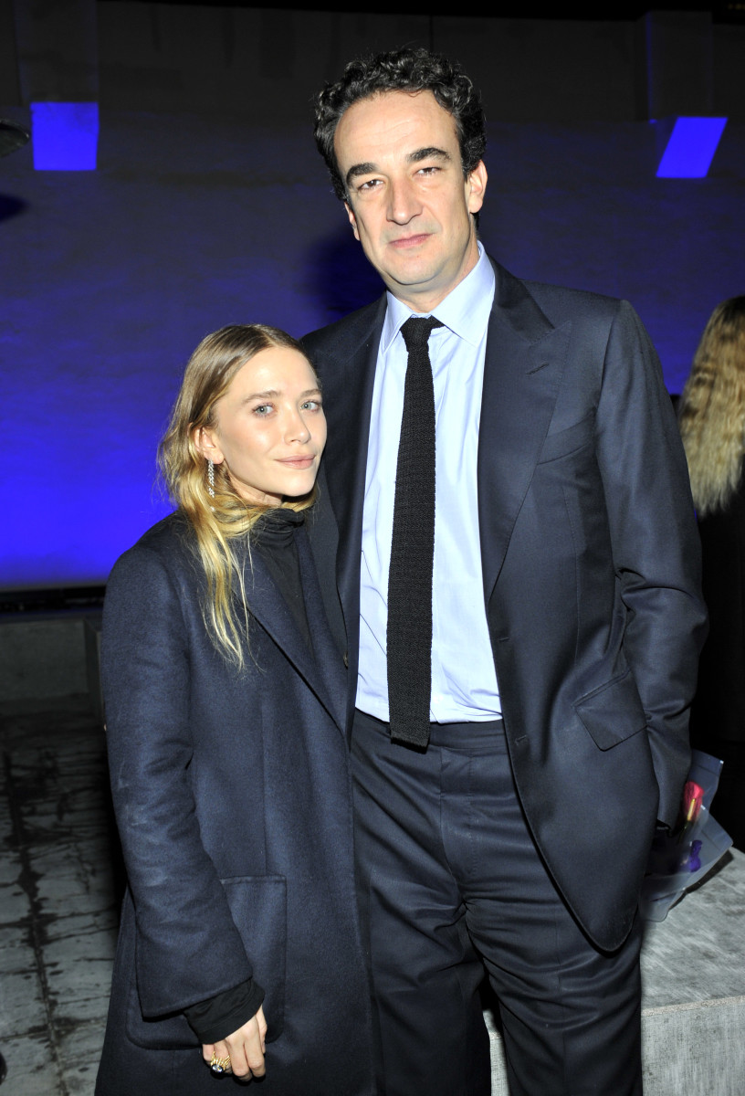 The happy newlyweds: Mary-Kate Olsen and Olivier Sarkozy. Photo: Donato Sardella/Getty Images