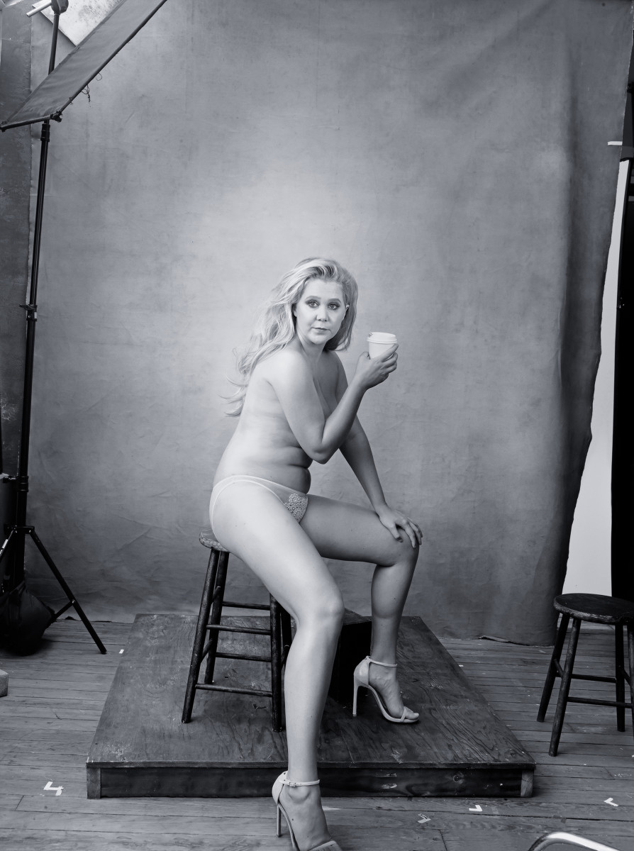 Actress and stand-up comedian Amy Schumer. Photo: Annie Leibovitz/Pirelli Calendar