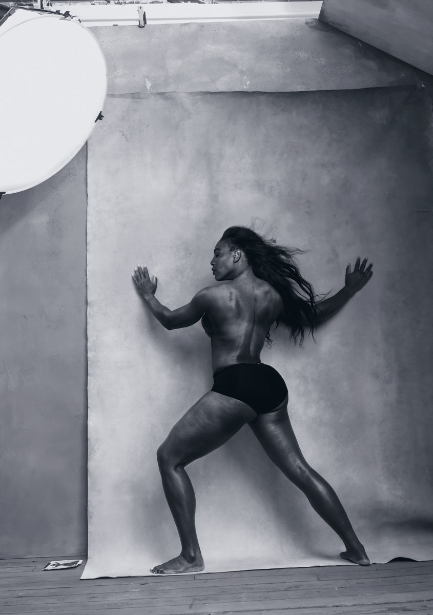 Tennis player Serena Williams. Photo: Annie Leibovitz/Pirelli Calendar