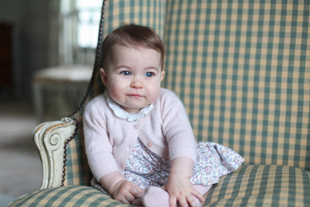 Princess Charlotte photographed by Kate Middleton at Anmer Hall earlier this month. Photo: @KensingtonRoyal/Twitter