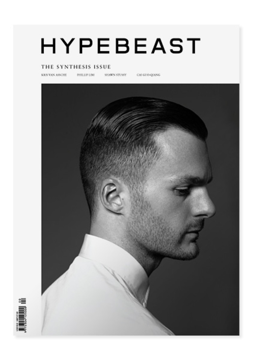 'Hypebeast' Issue 01 featuring Dior Homme's Artistic Director Kris Van Assche. Photo: 'Hypebeast'
