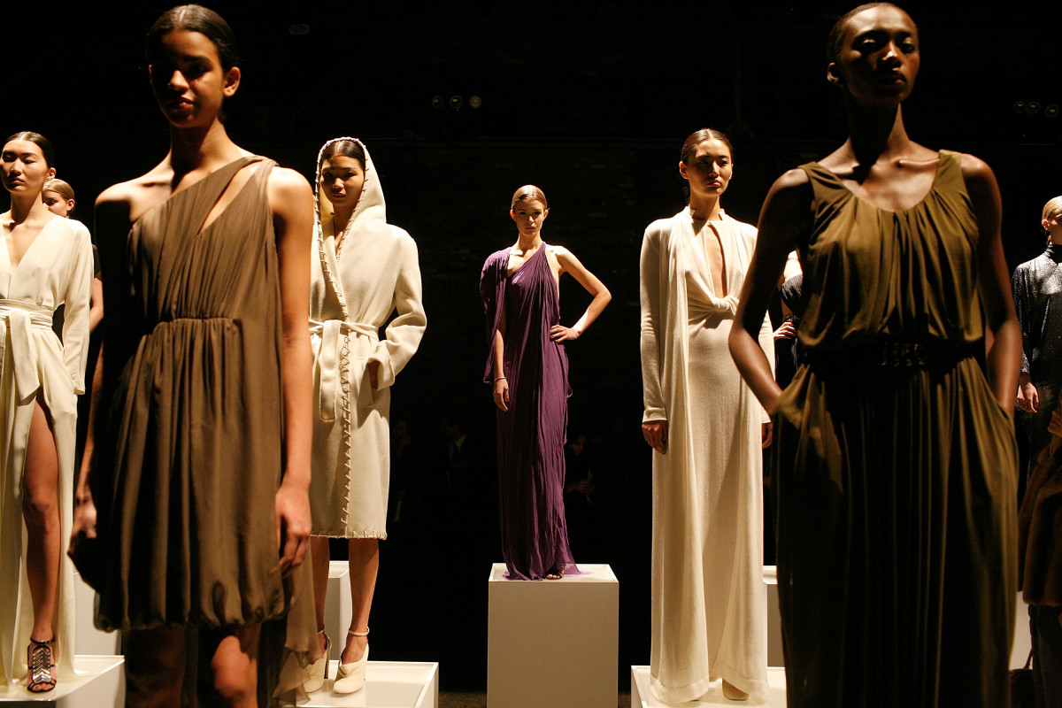 The Halston fall 2011 presentation during New York Fashion Week. Photo: Andy Kropa/Getty Images