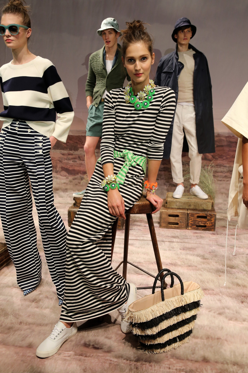 J.Crew presented its spring 2016 collection at New York Fashion Week in September. Photo: Neilson Barnard/Getty Images