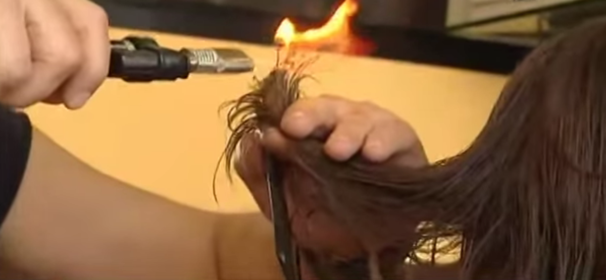 That is a large flame. Screengrab: YouTube