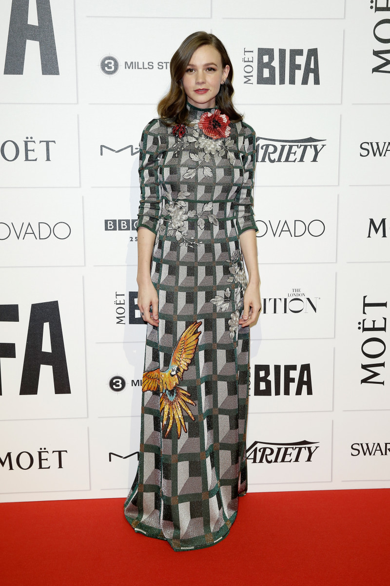 Carey Mulligan Put a Bird on It in a Floor-Length Gucci Gown ...