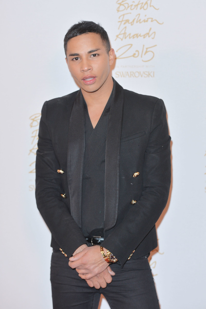 Olivier Rousteing. Photo: Anthony Harvey/Getty Images
