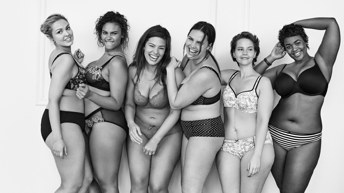 Lane Bryant's model squad. Photo: Lane Bryant