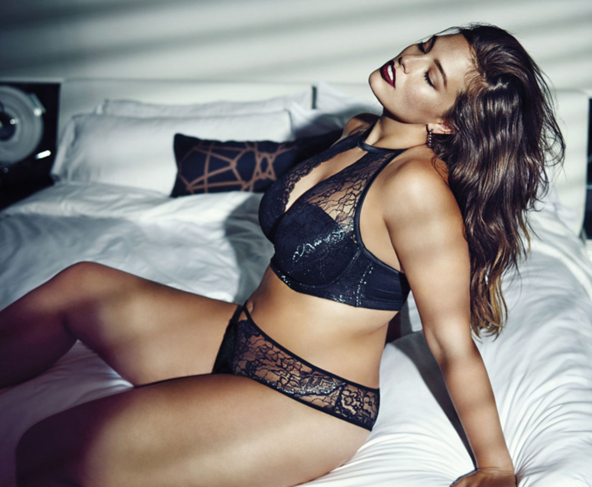 Ashley Graham models her Addition Elle collection. Photo: Addition Elle