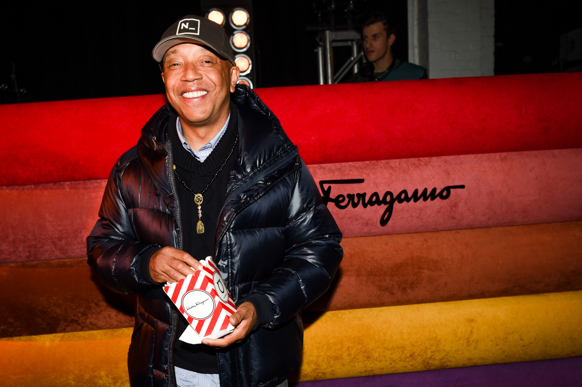 Russell Simmons at the Ferragamo Signature event. Photo: BFA/Salvatore Ferragamo