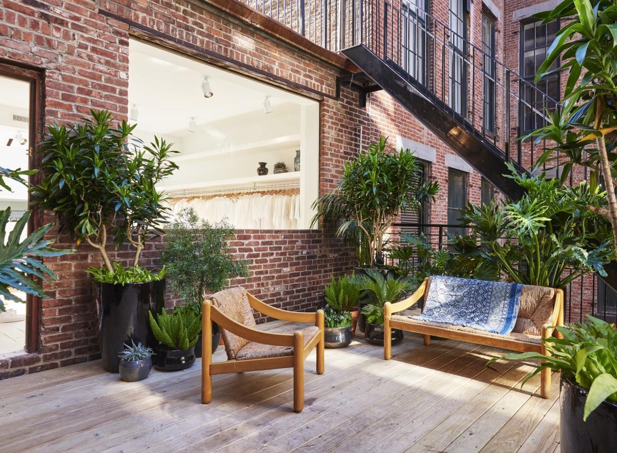 A nice patio at Totokaelo. Photo: Totokaelo
