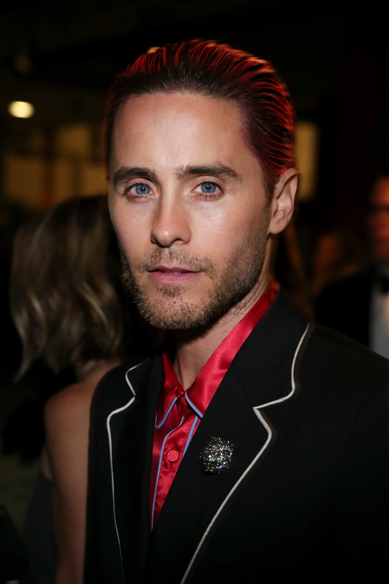 Jared Leto looking so Gucci. Photo: Jonathan Leibson/Getty Images
