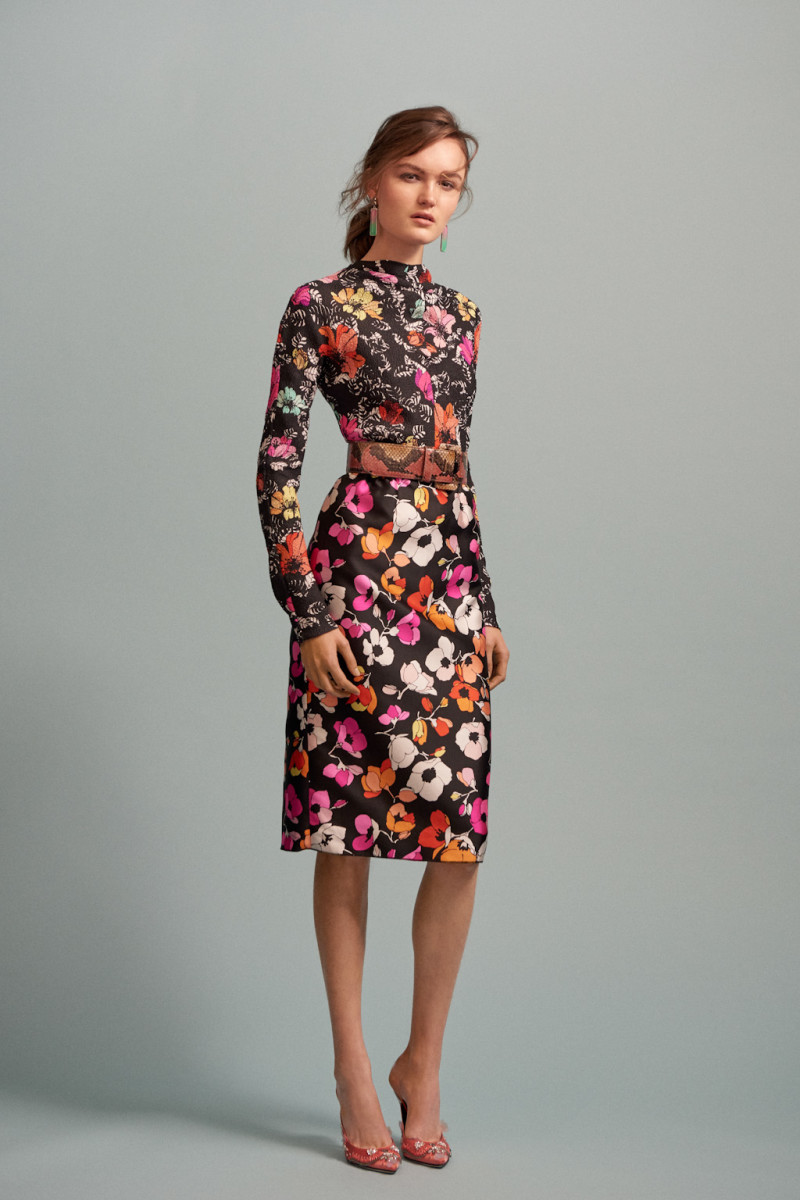 A look from Oscar de la Renta's pre-fall 2016 collection. Photo: Oscar de la Renta