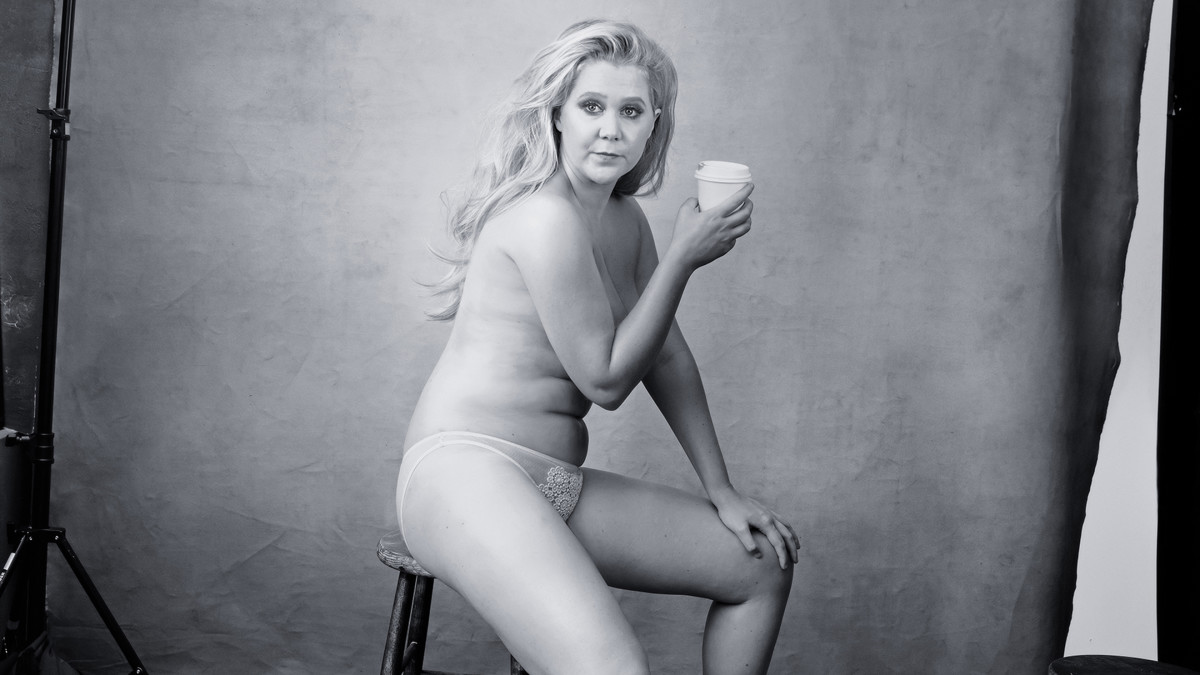 Amy Schumer is boss. Photo: Annie Leibovitz/Pirelli Calendar