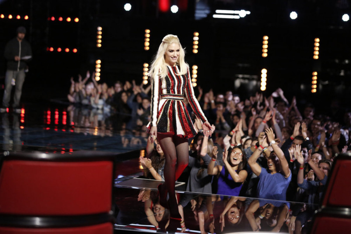 "Gwen Stefani on ""The Voice."" Photo: Trae Patton/NBC"