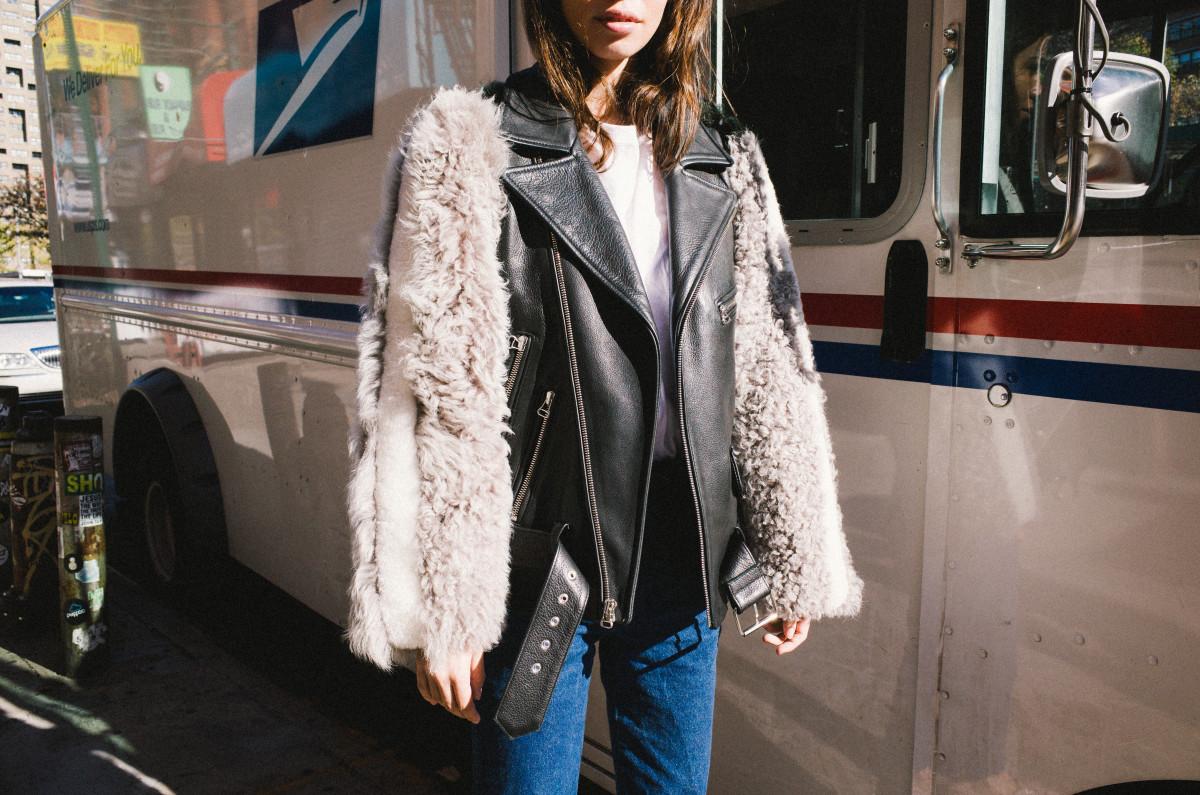 The Rivington Moto jacket, $3080. Photo: Sandy LIang