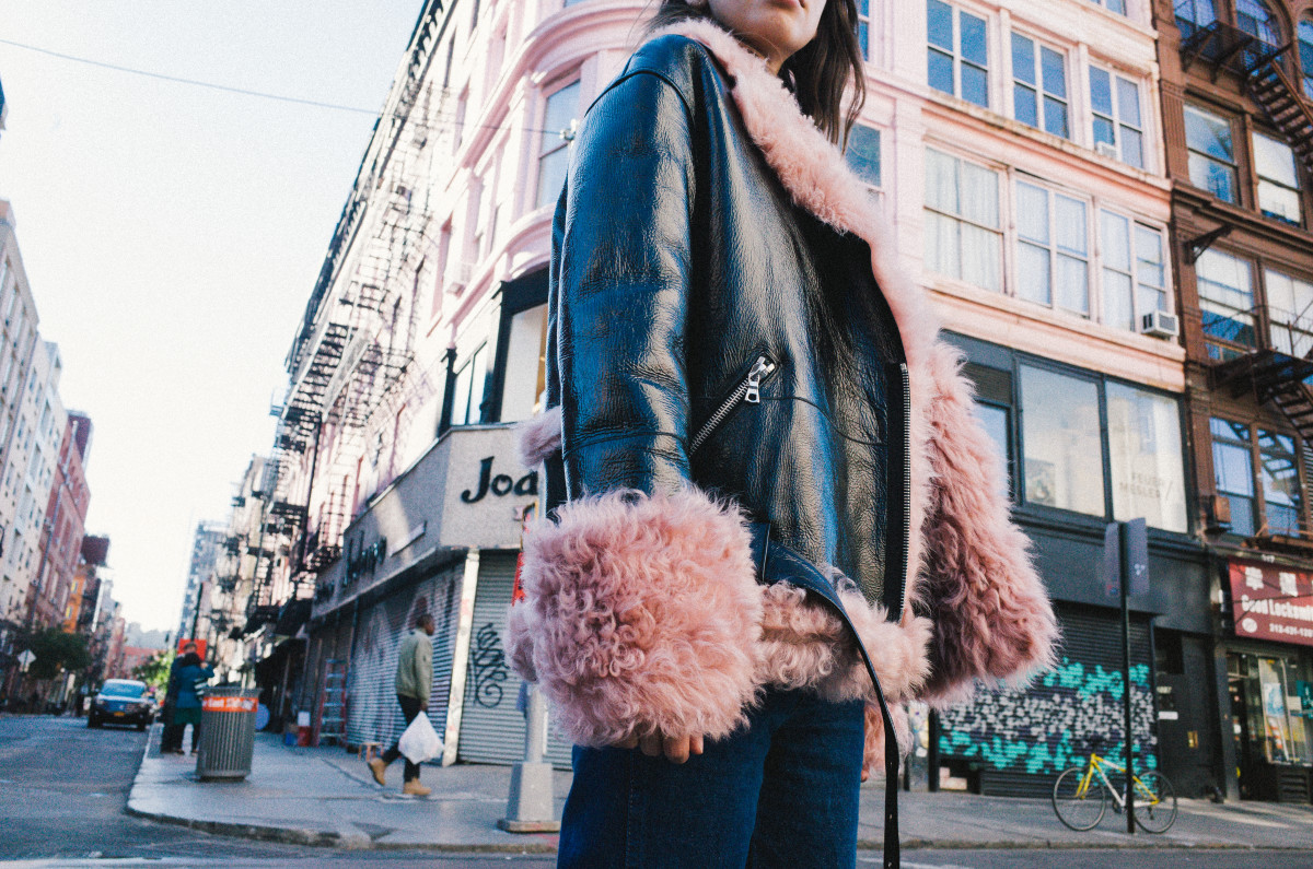 The Bowery jacket, $2300. Photo: Sandy Liang