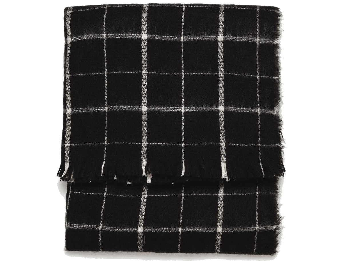 Zara Soft Check Scarf, $25.90, available at Zara.