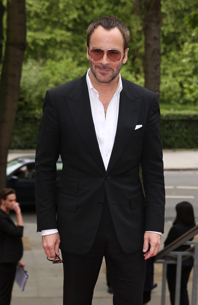 "Tom Ford at the UK premiere of ""The True Cost"" in May. Photo: Tim P. Whitby/Getty Images Entertainment"