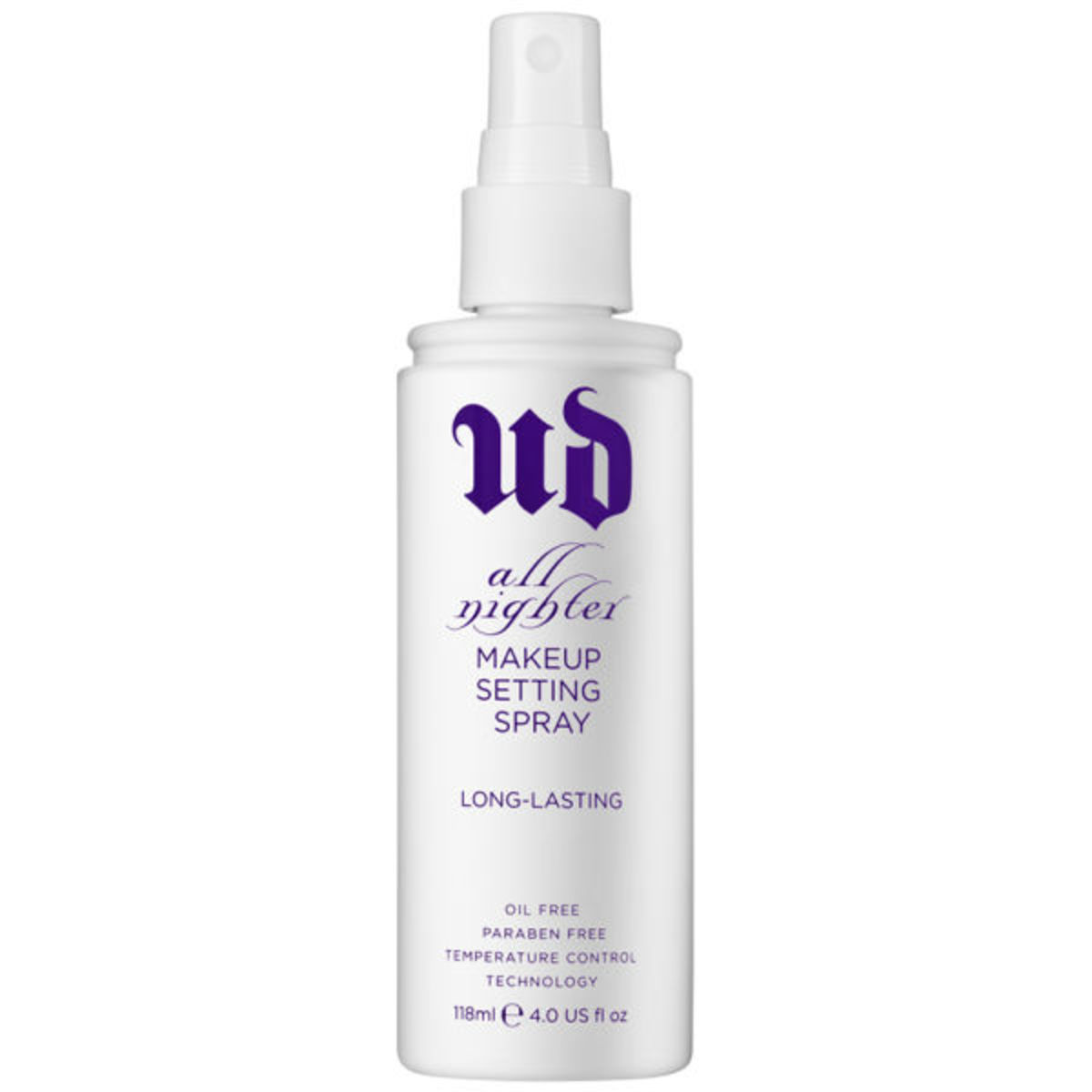 Urban Decay All Nighter Long-Lasting Makeup Setting Spray, $30, available at Sephora.com.