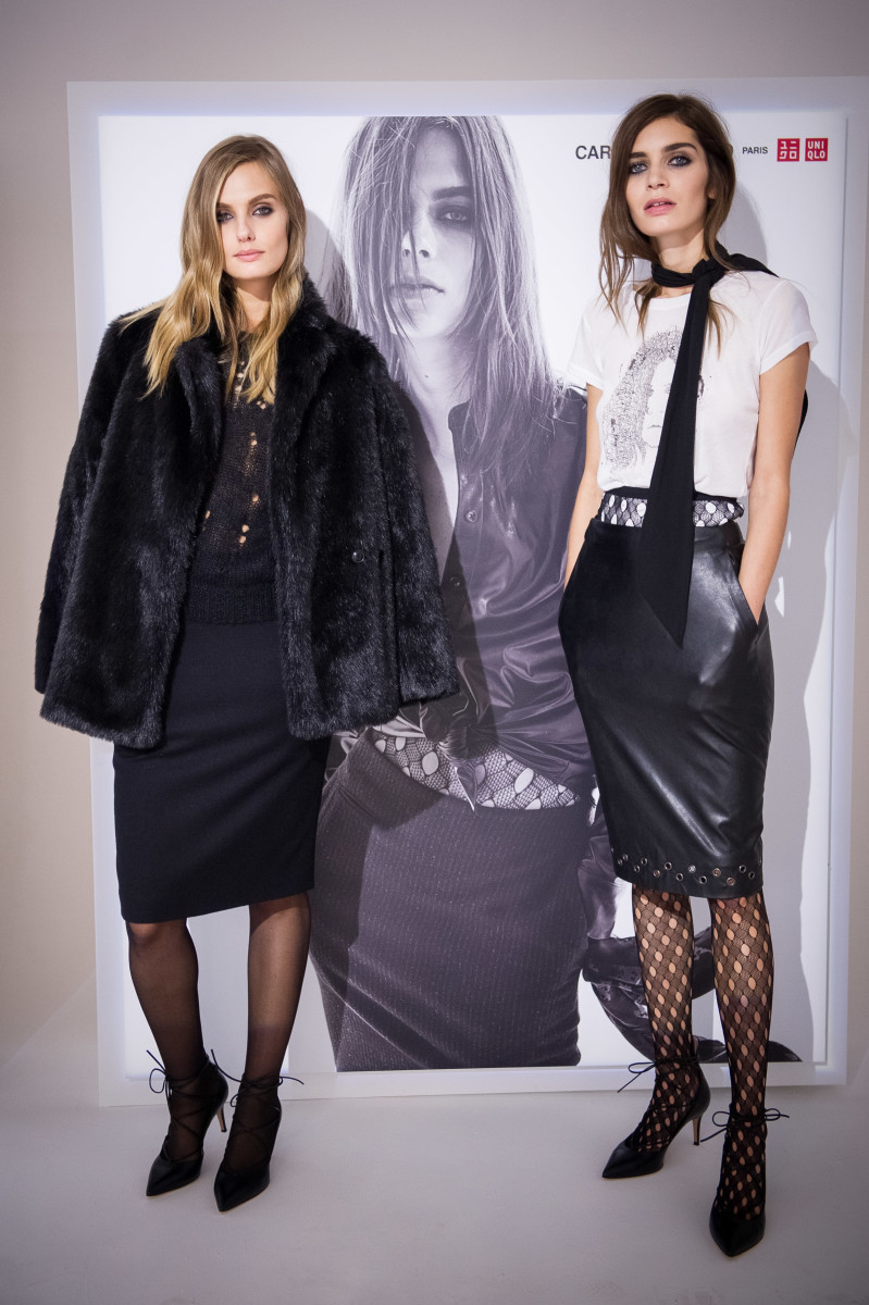 The Carine Roitfeld for Uniqlo presentation in Paris last September. Photo: Francois Durand/Getty Images