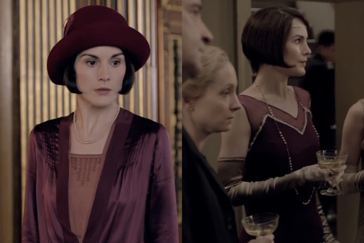 Lady Mary likes wine. Screengrabs: PBS/Masterpiece