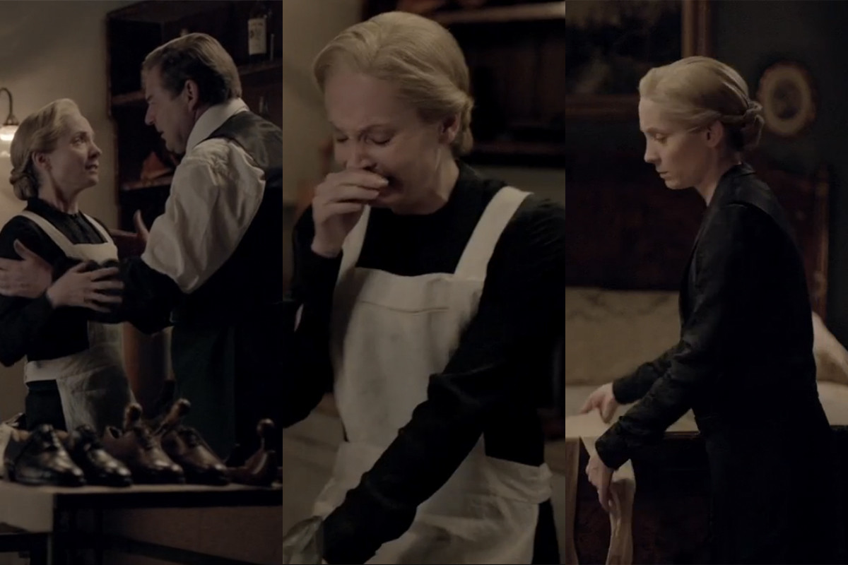 Anna, very sad. Screengrabs: PBS/Masterpiece