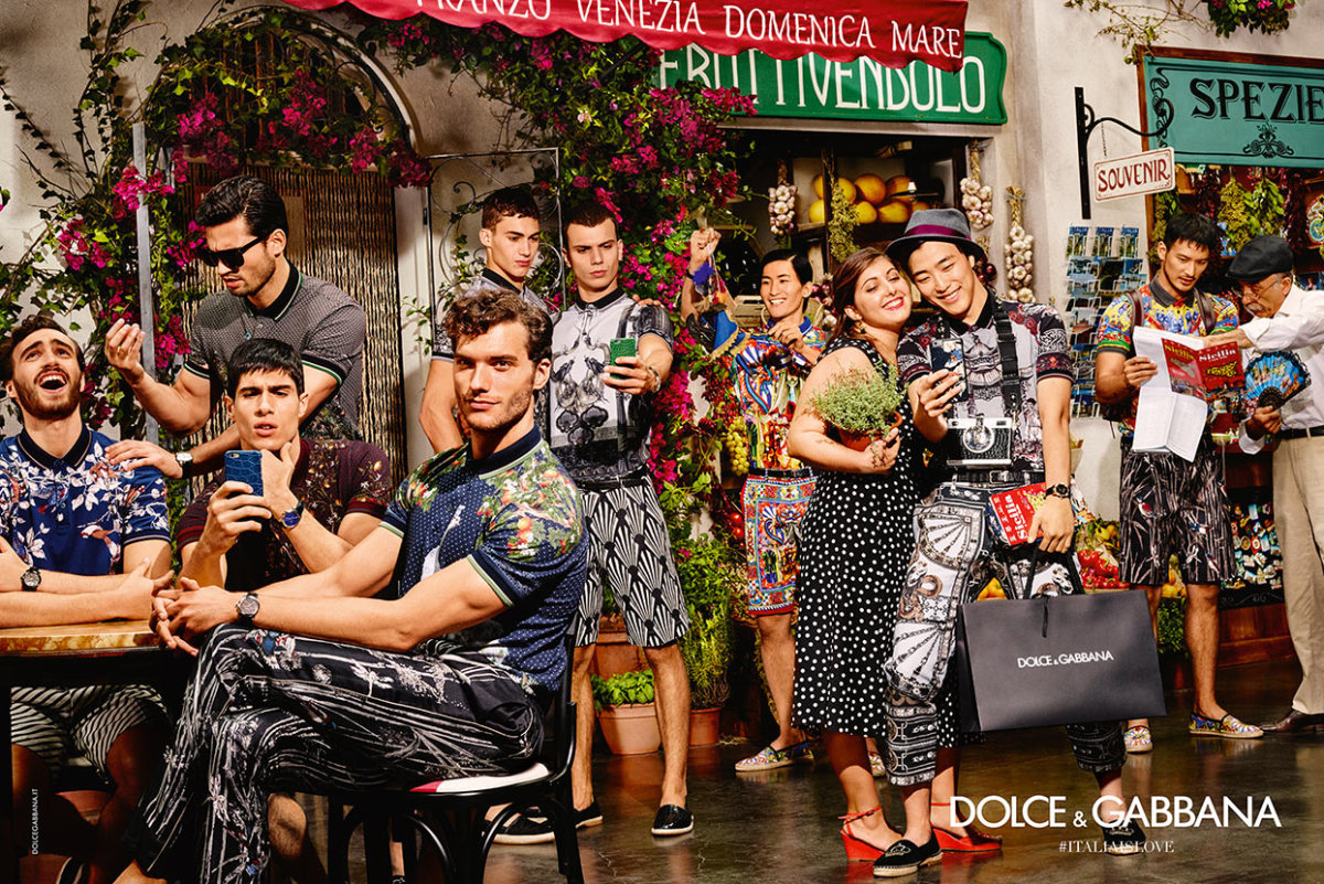 The Dolce & Gabbana summer 2016 campaign. Photo: Dolce & Gabbana