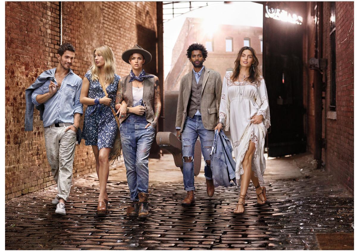 A campaign image for Denim & Supply Ralph Lauren. Photo: Denim & Supply Ralph Lauren