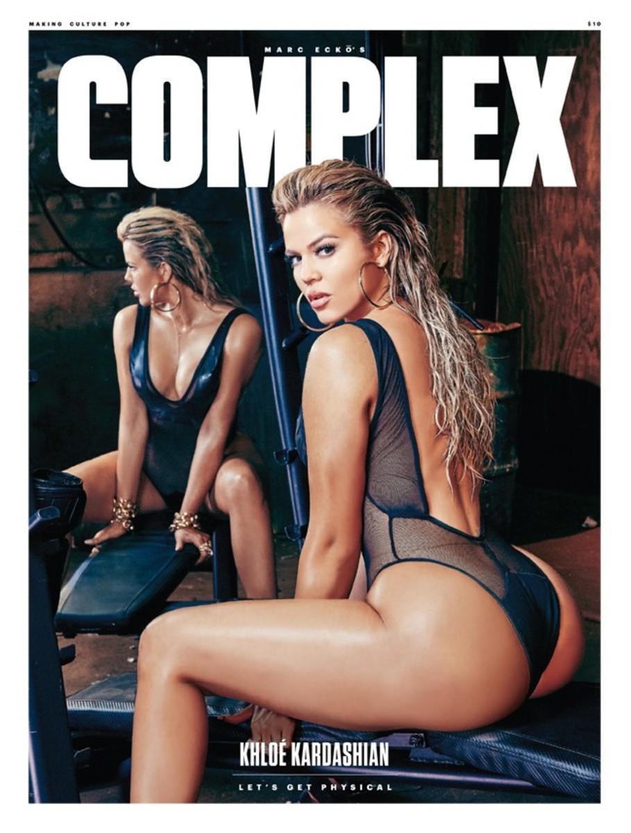 Khloe Kardashian covers 'Complex.' Photo: Complex