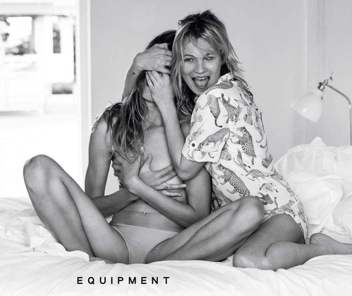 Goals. Photo: Daria Werbowy for Equipment